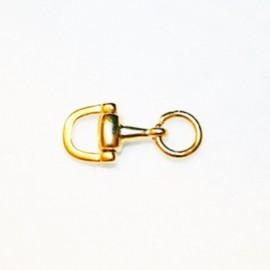 Clasica pequeña- bocado 1/2 dorado