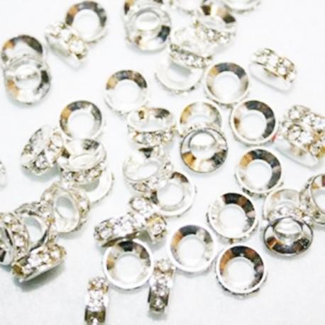 Rondel cristales paso de 4mm