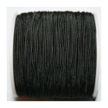 Elástico 1mm negro