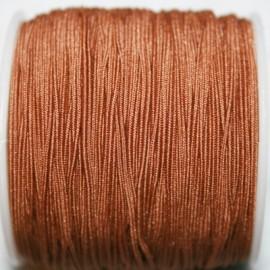 Elástico 1mm marrón claro