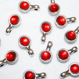 resina colgante roja