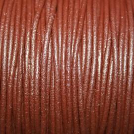 Cuero redondo 2,5mm nacional