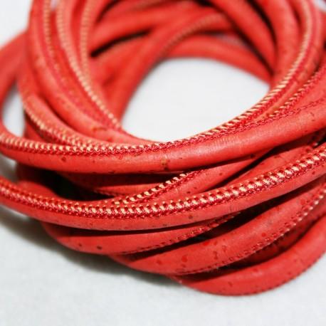Corcho redondo rojo
