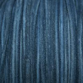 Cuero navy azul marino