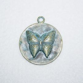 Mariposa patinada