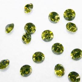 Swarovski olivine 6mm