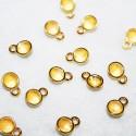 Colgante para cristal de 6mm dorado