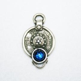 Colgante 1 anilla azul