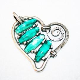 Corazón esmeralda