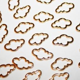 Nube mini dorada