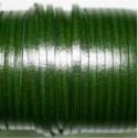 Cuero sintético plano 3mm verde inglés