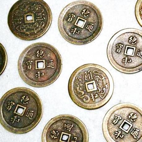 Moneda bronce (zamak)