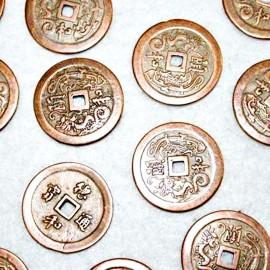 Moneda cobre (zamak)