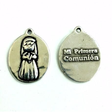 Medalla comunión niña
