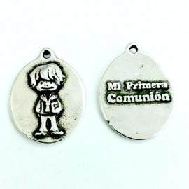 Medalla comunión niño