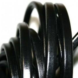Cuero regaliz negro