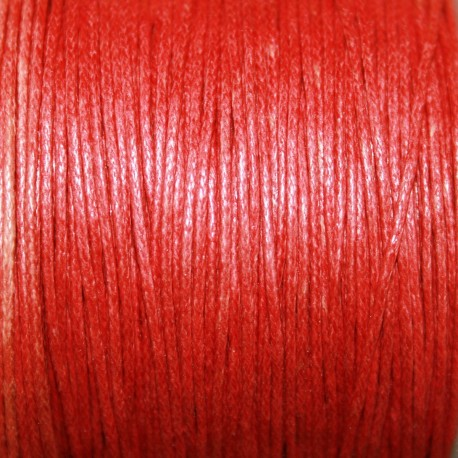 Hilo algodon rojo