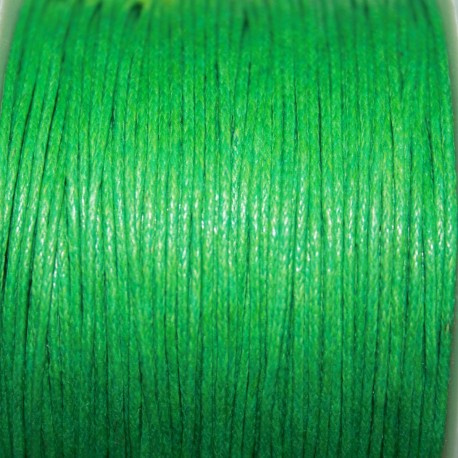 Hilo algodón verde
