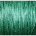 Hilo algodón verde oscuro 1mm