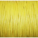 Hilo algodón amarillo 2mm