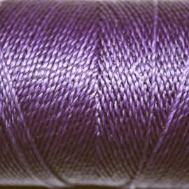 Hilo poliester violeta