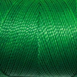 Hilo poliester verde
