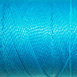 Hilo poliester azul