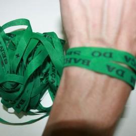 Cinta Senhor Bonfim verde