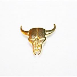 Cabeza vaca dorada
