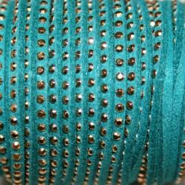 Antelina tachitas turquesa verdoso
