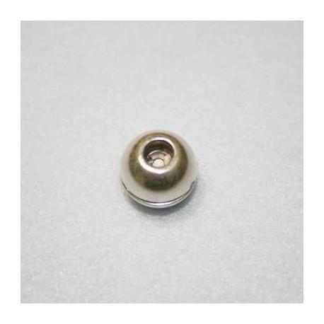 Cierre bola p/cuero de 5mm