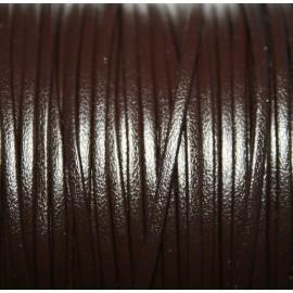 Tira doblada marrón chocolate