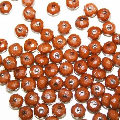 Facetada marrón x 25 unidades