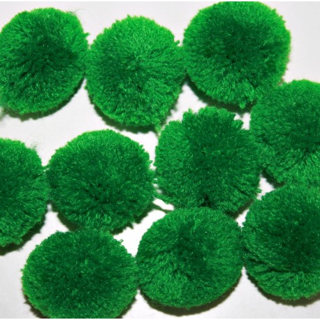 Pompon verde grande