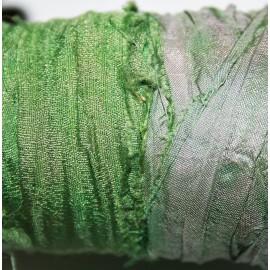 Tira seda rústica green