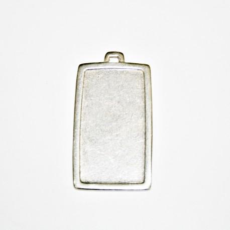 Base rectangular con marco