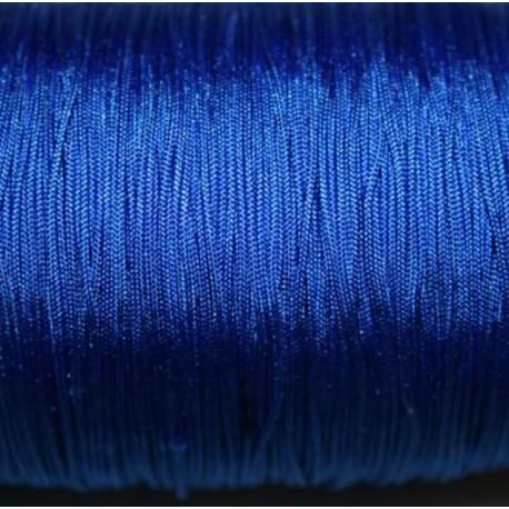 Hilo macramé azul