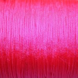 Hilo macramé rosa fluor