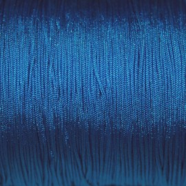 Hilo macramé azul eléctrico