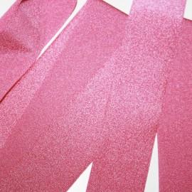 Lycra plana de 30mm rosa