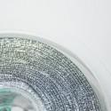 Elástico 1mm plateado