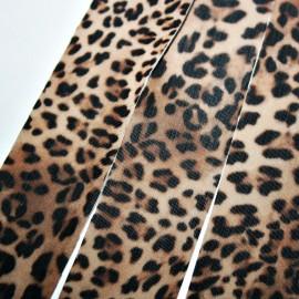 Lycra plana 30mm leopardo