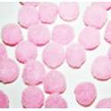 Pompón rosa redondo mini