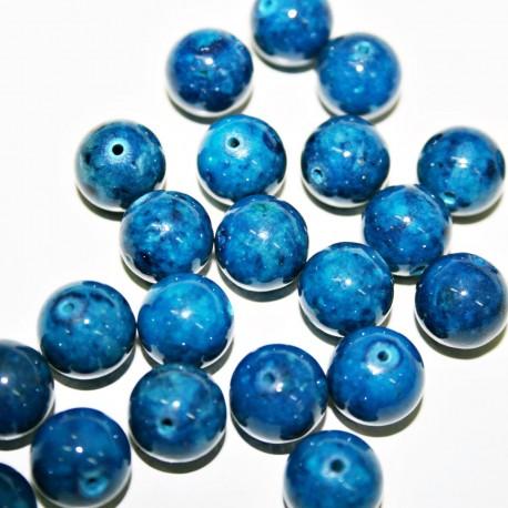 Fosil azul 10mm