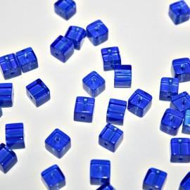 Cubo pequeño azul 6mm