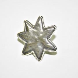 Anillo estrella x 2 unidades
