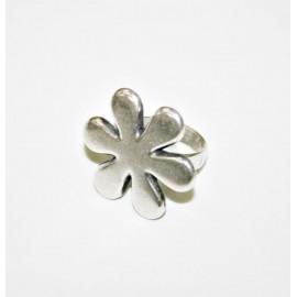 Anillo flor simple x 2 unidades