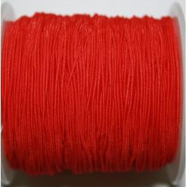 Elástico 1mm rojo