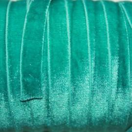 Terciopelo ELASTICO turquesa verdoso