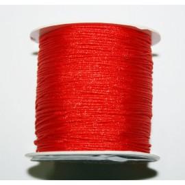 Hilo macramé ROLLO rojo